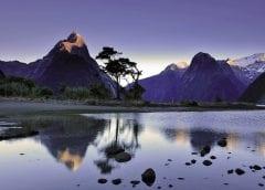 Новая Зеландия, озеро Милфорд