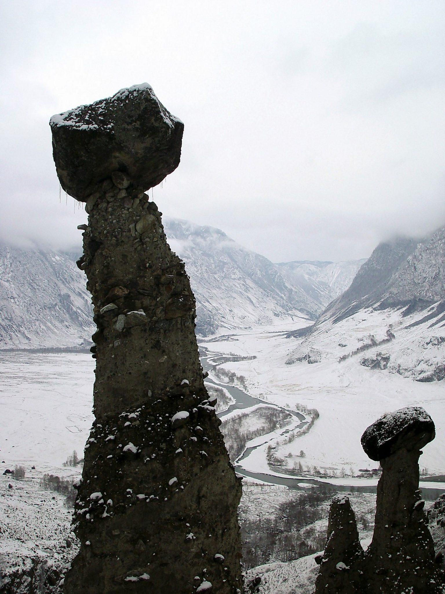 Каменные грибы урочища Аккурум (1)