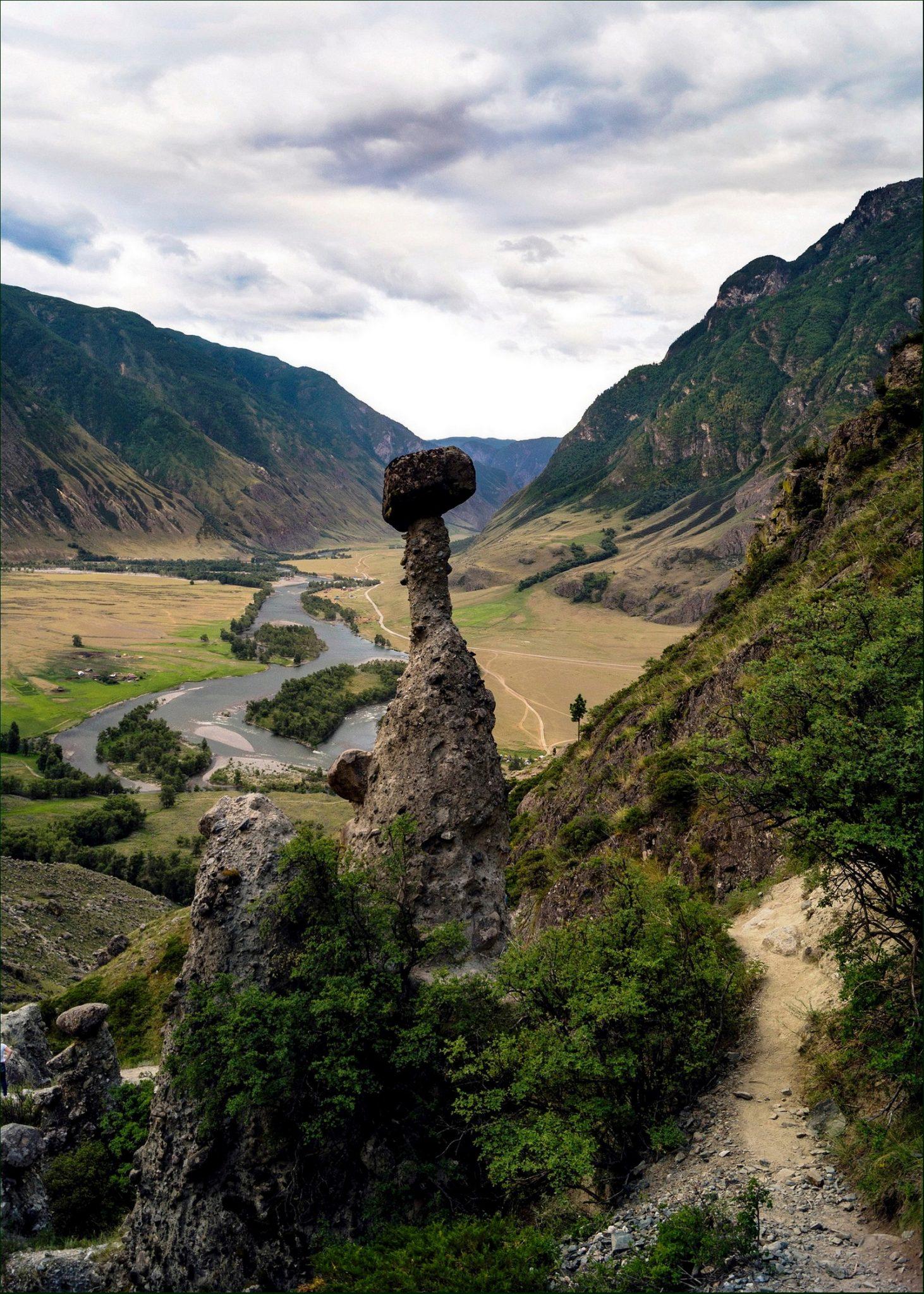 Каменные грибы урочища Аккурум (4)