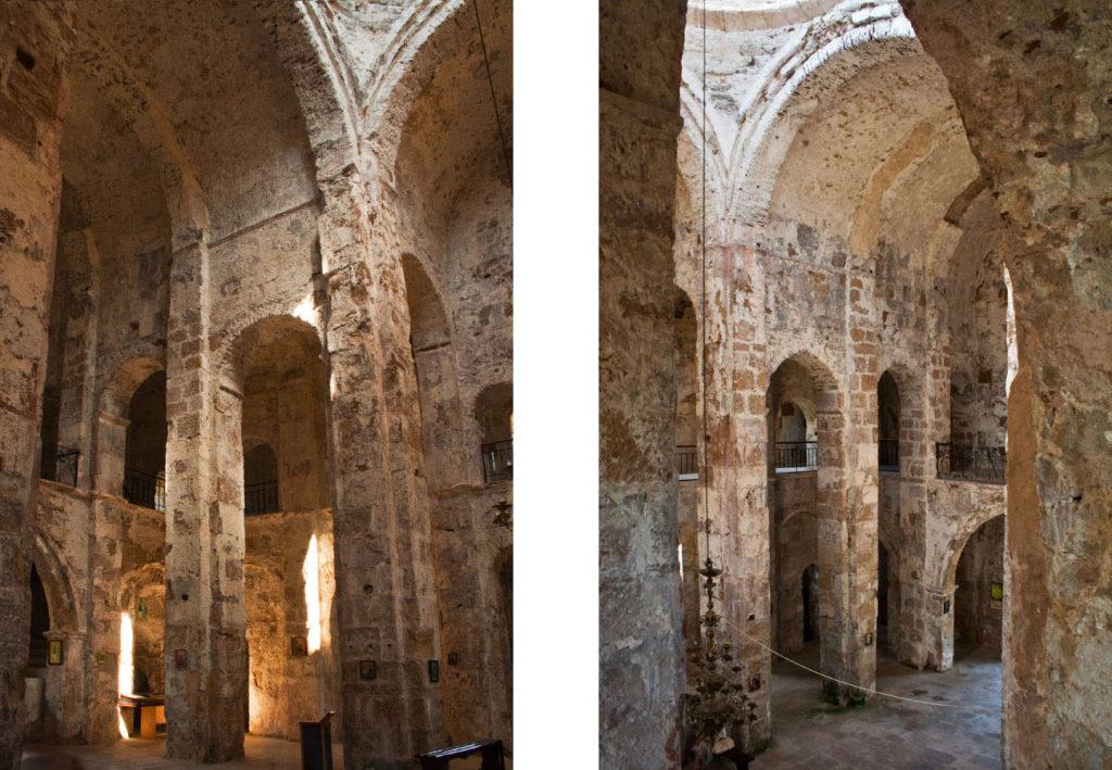 Моквский храм внутри