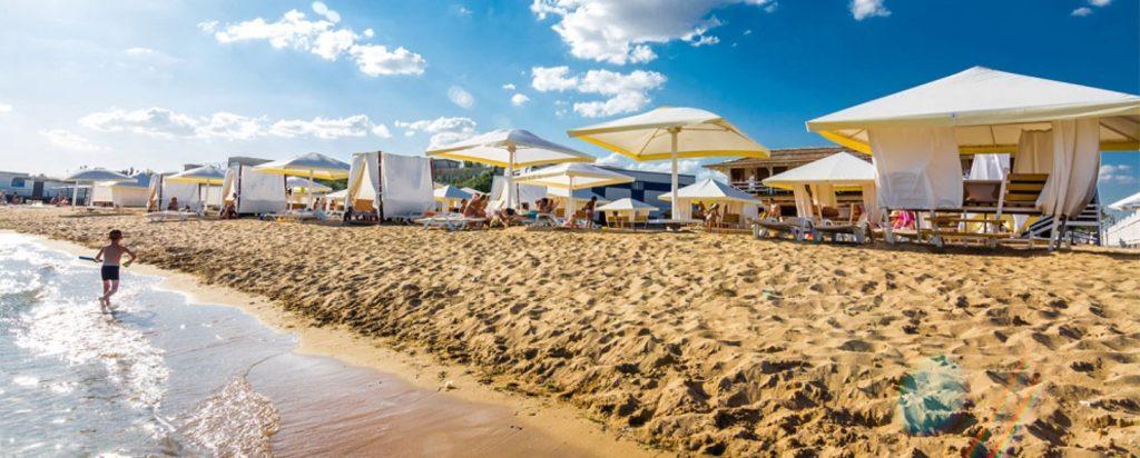 Евпатория песчаный пляж