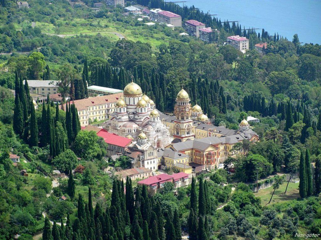 Новый Афон. Храм