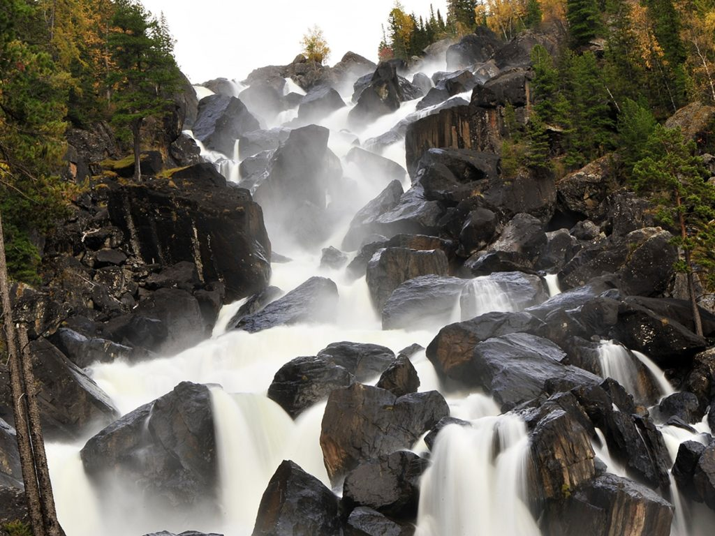 Водопад Учар (Чульчинский водопад)