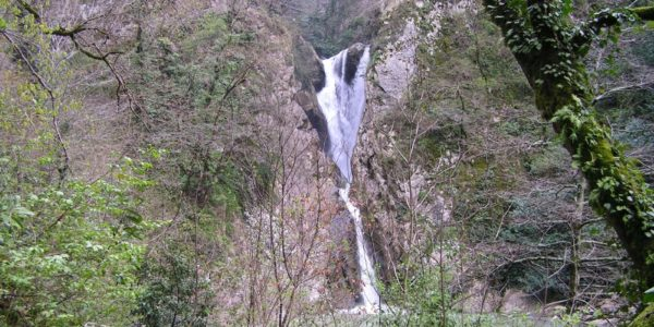 Агурские водопады Общий план
