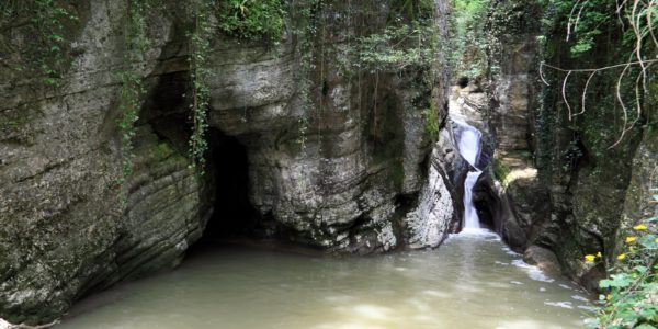 Сочи. Агурские водопады.