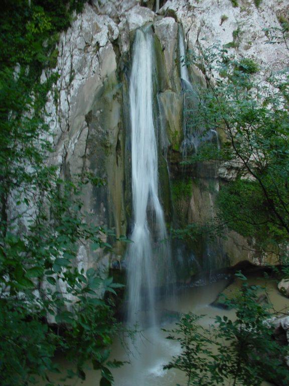 Агурские водопады ущелье смотровая