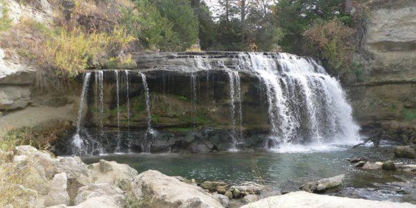 Водопады Змейковские прекрасный вид