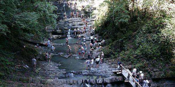 Змековские водопады Сочи
