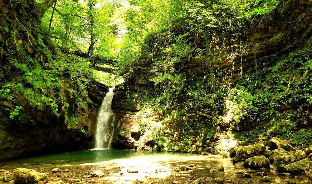 Ивановский водопад Адлер Сочи