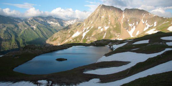 Озеро Клумбочка зимой