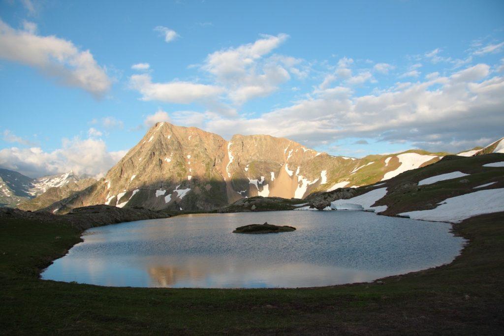 Озеро Клумбочка на расвете