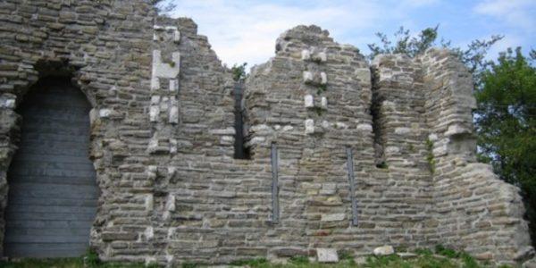 Стена крепости Мамай-Кале