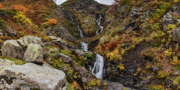 Ачипсинские водопады конец осени