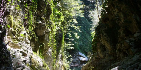 Водопад Чудо-Красотка вид сверху
