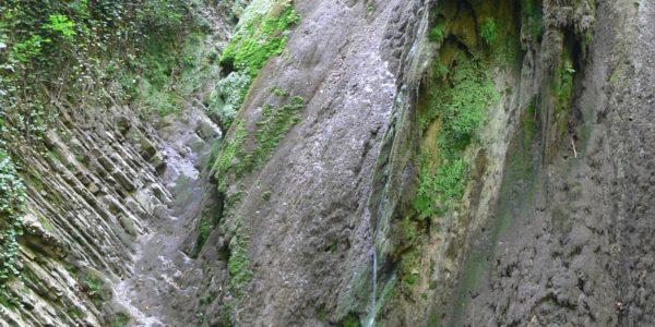 Крабовое ущелие скала