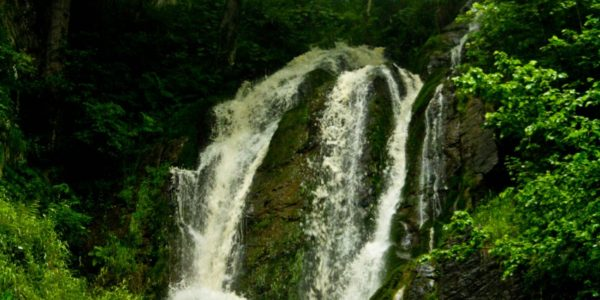Водопад Кейву Красная поляна
