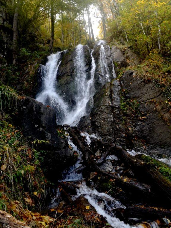 Водопад Кейву осень