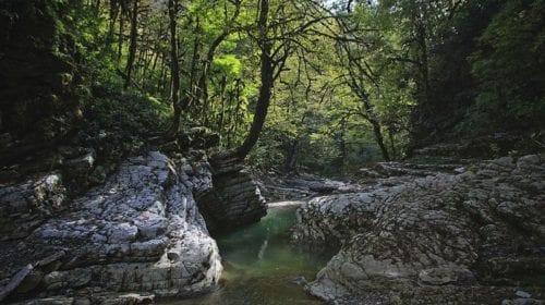 Мокрый_каньон_реки_Псахо