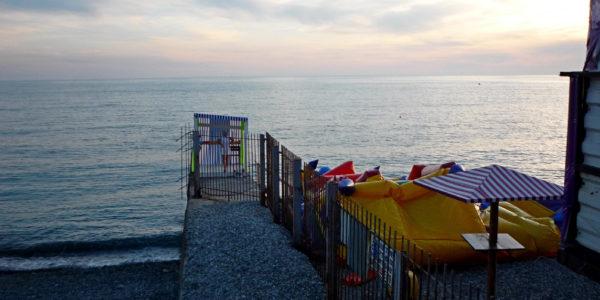 Пляж Водные атракционы