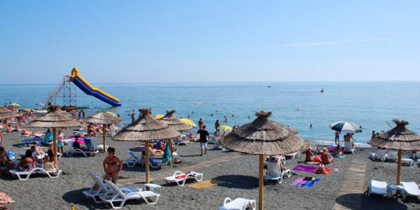 Пляж Санатория «Знание»