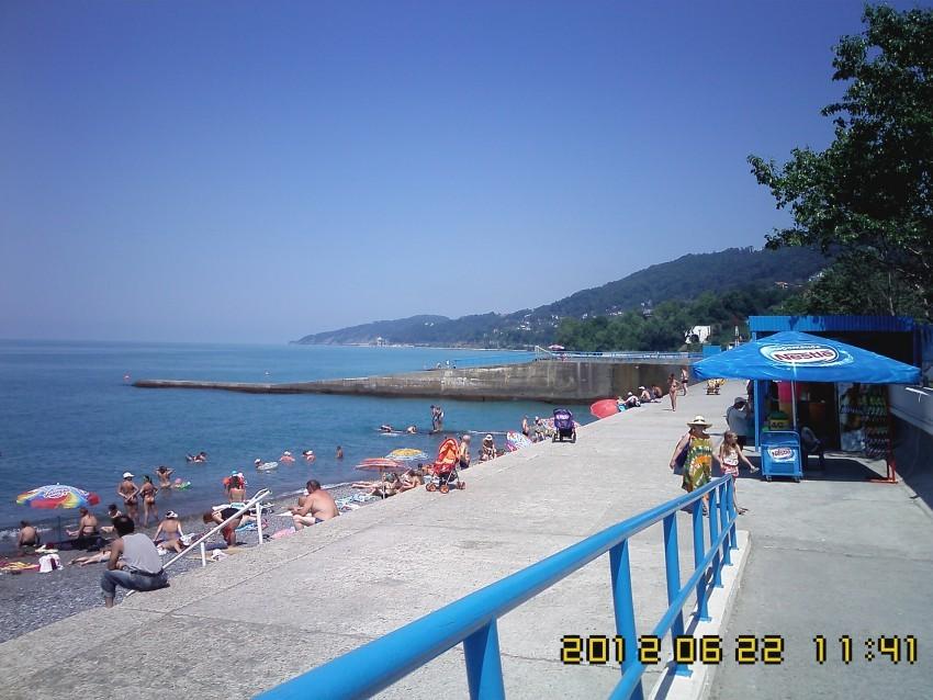 Пляж Фазотрон сочи отдых летом