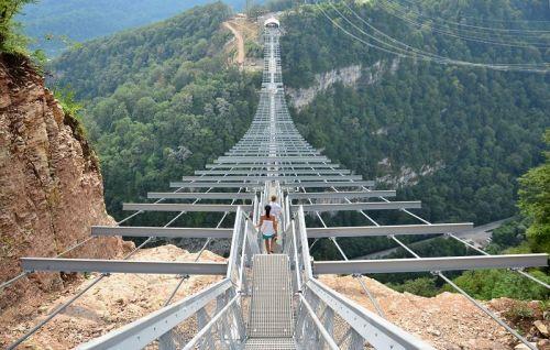 Скайпарк начало моста