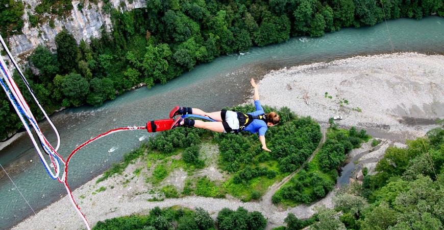 Скайпарк прыжки с тарзанкой