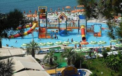Детский городок аквапарк Маяк