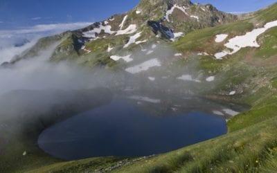 Красивое фото на достопремечательность Кавказского заповедника