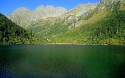 Озеро Кардывач на Красной Поляне