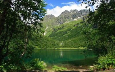 Озеро Кардывач отличное место для привала