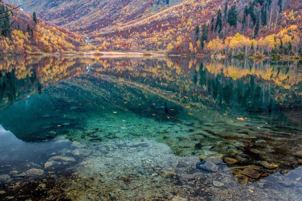 Осень на озере Кардывач