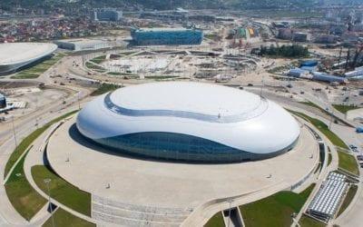 Вспомогательный стадион льдинка