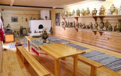 Обстоновка в дому музея Кошманова