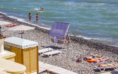 Береговая линия пляжа солнечный
