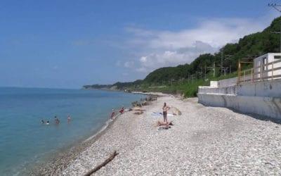 Дикие пляжи Лазаревского направления